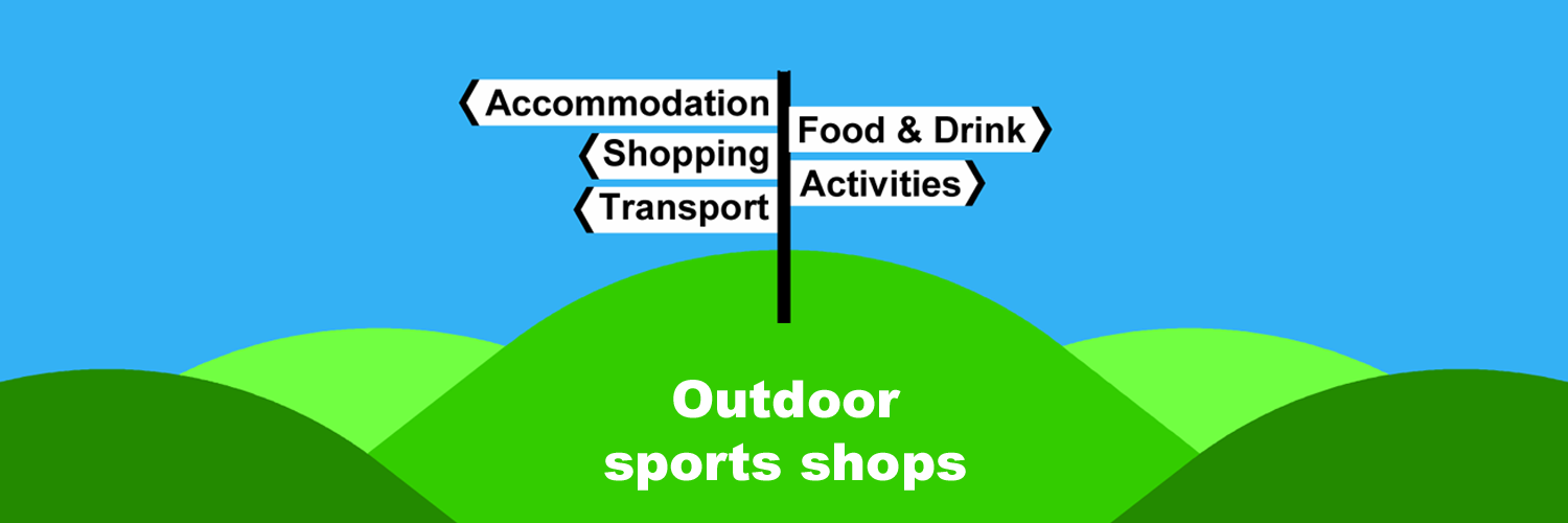Outdoor sports shops in Ireland