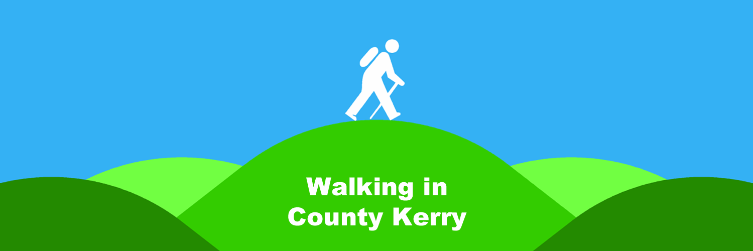 Walking in County Kerry - Local places to walk - Guide book and map recommendations
